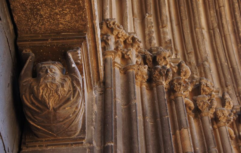 Detalle de la Iglesia del Santo Sepulcro en Estella | Foto: Beatriz de Lucas Luengo