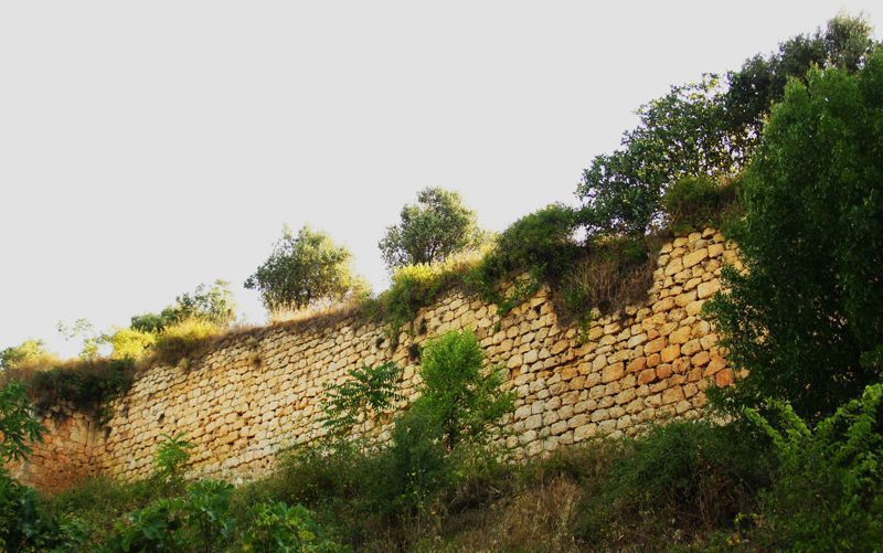 Muro de la judería nueva en Estella | Foto: Beatriz de Lucas Luengo