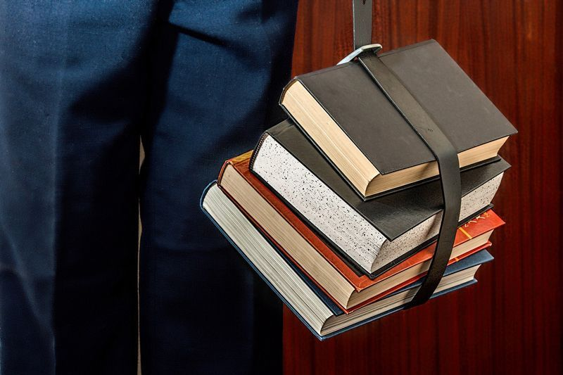 Libros para estudiar | Foto: Stevepb para Pixabay