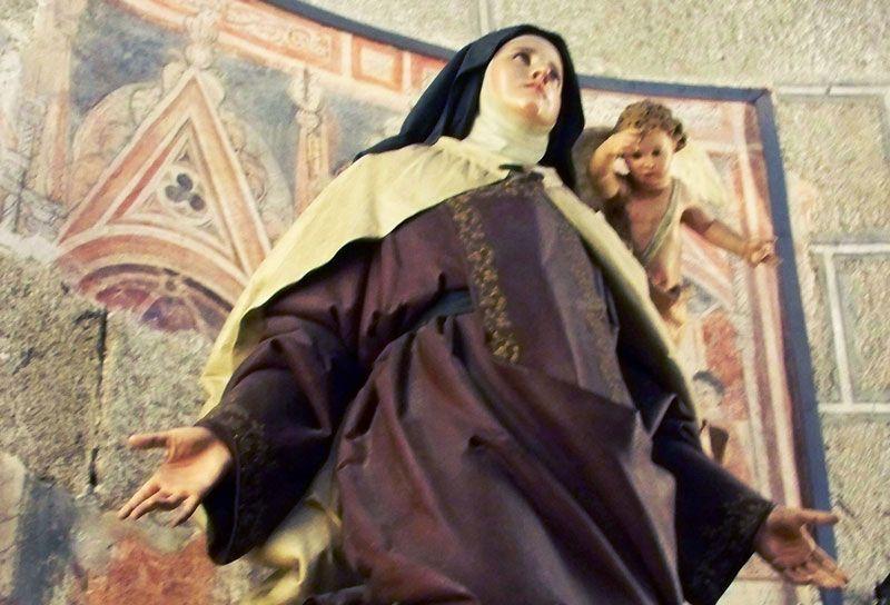 Imagen de Santa Teresa en la Catedral de Ávila | Foto: David Fernández