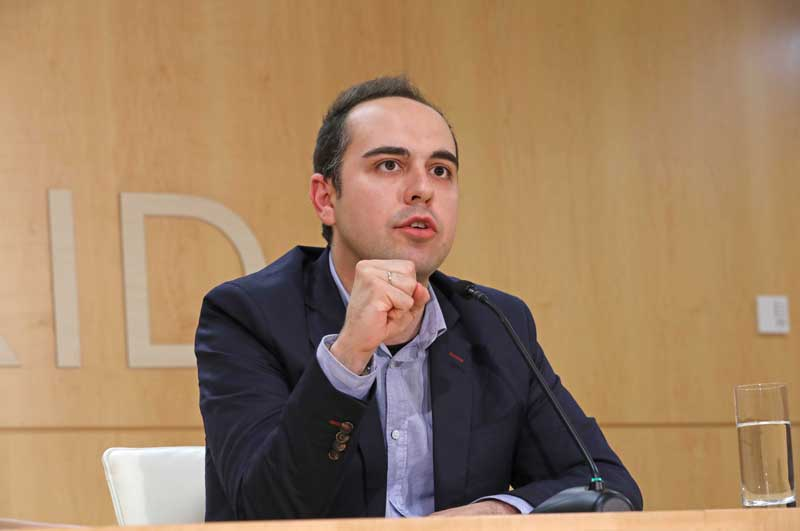 José Manuel Calvo, concejal de Desarrollo Urbano del Ayuntamiento de Madrid   Foto: Ayuntamiento de Madrid