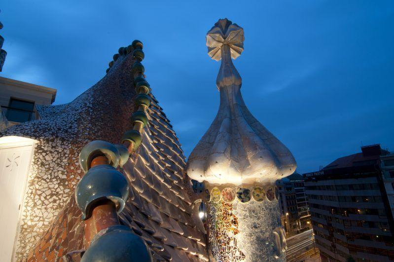 Casa Batlló tejado