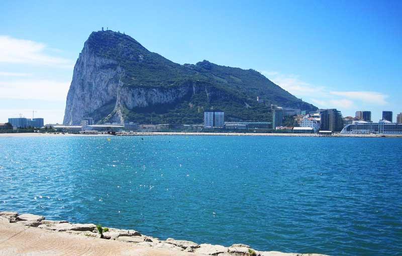 Vista del peñón de Gibraltar | Foto: hfachildren para Pixabay