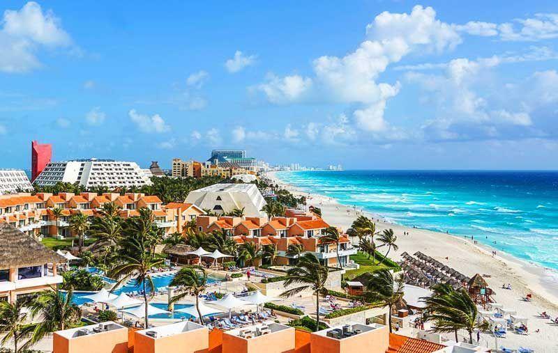 El 'spring break' salva los hoteles de costa en México