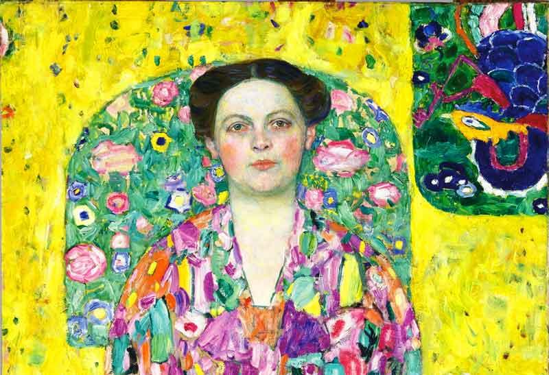 Retrato de Eugenia Primavesi, de Gustav Klimt | Foto: Museo Leopold