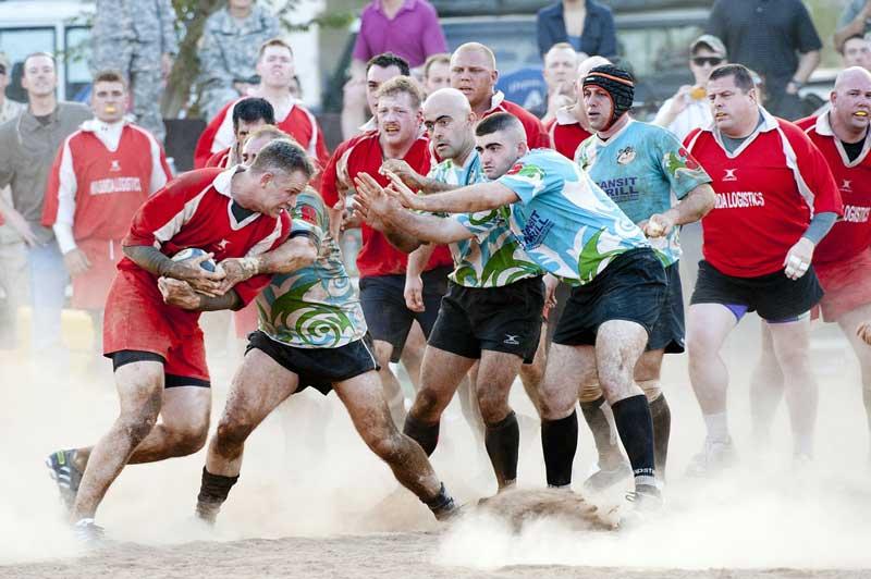 Partido de Rugby | Foto: Pixabay