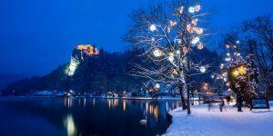 El cuento de hadas en Invierno de Bled