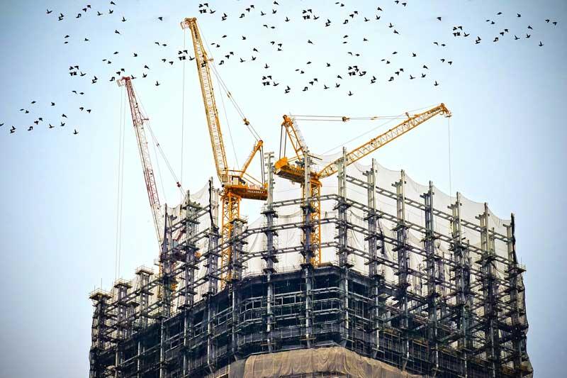 Grúas de construcción | Foto: Pixabay