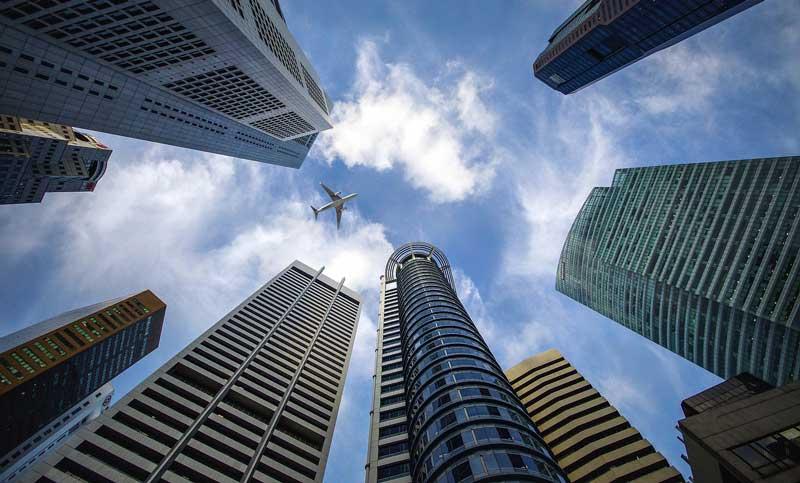 Complejo de rascacielos | Fuente: Pixabay
