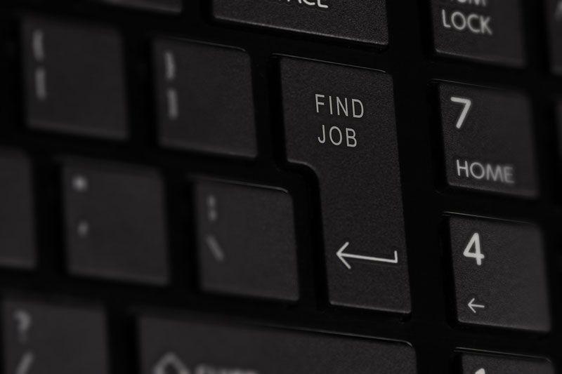 Teclado y empleo | Foto: Pixabay