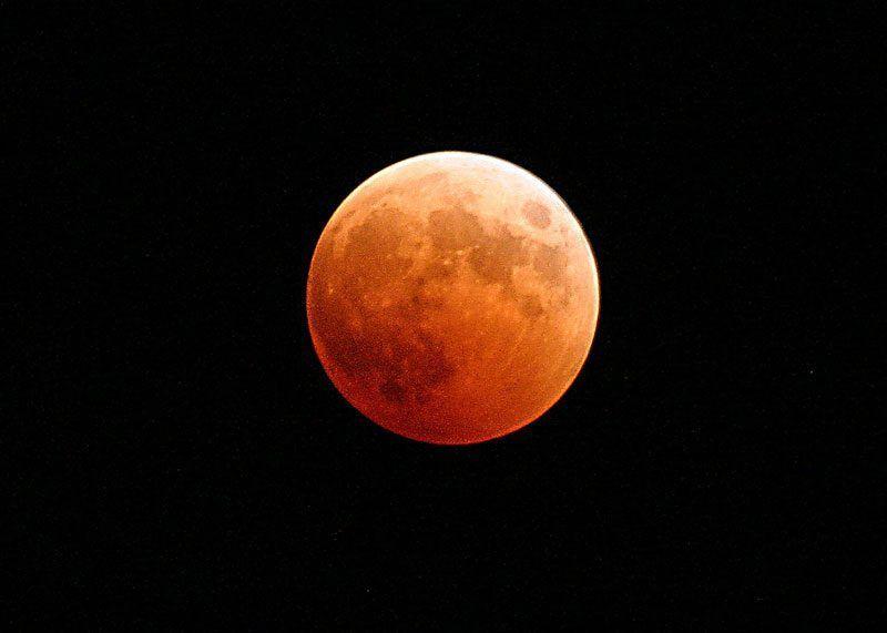 Luna roja | Foto: Pixabay