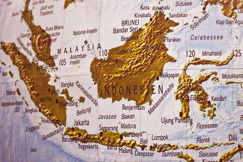 Mapa de la región Asia-Pacíico | Foto: Pixabay