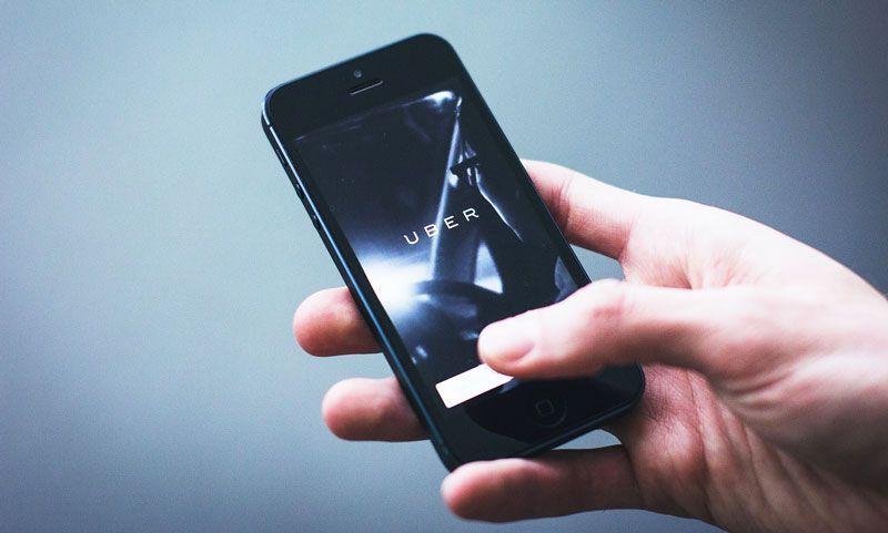 Aplicación de Uber | Foto: Pixabay
