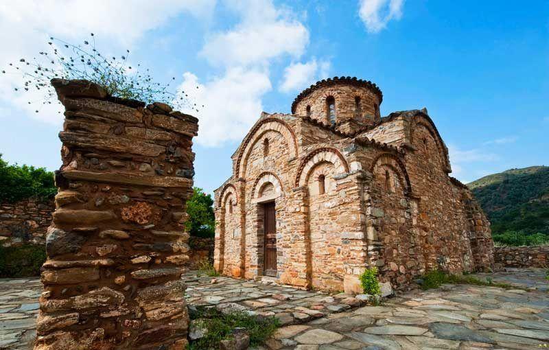 Iglesia en Fodele, Isla de Creta