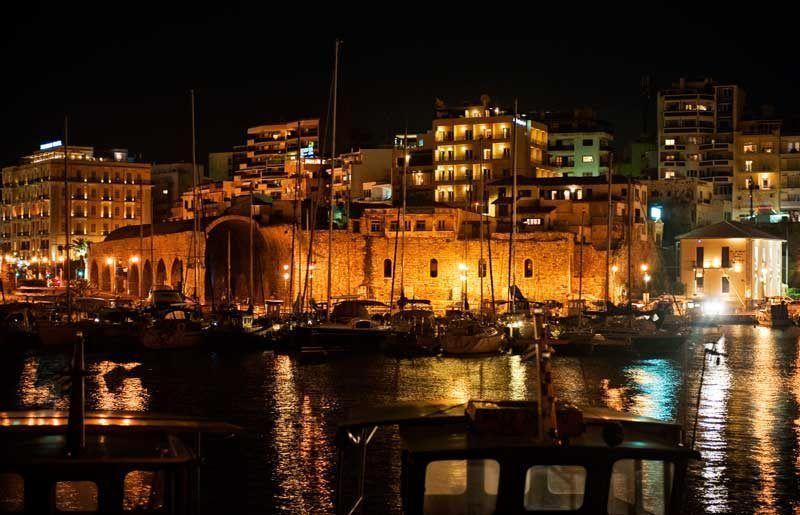 Puerto veneciano en Heraklion, Creta | Foto: ONT Grecia