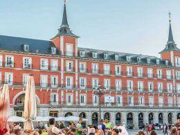 Fachada del Hotel Pestana Plaza Mayor Madrid