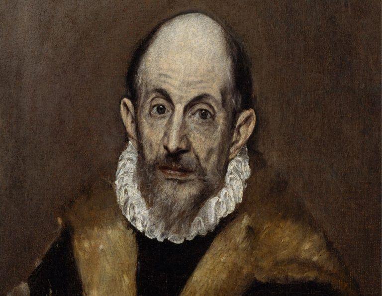 Retrato que se cree de El Greco