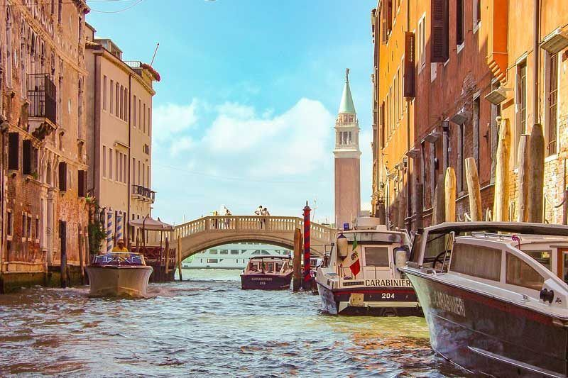 Canal de Venecia hacia la plaza de San Marcos | Foto: Pixabay