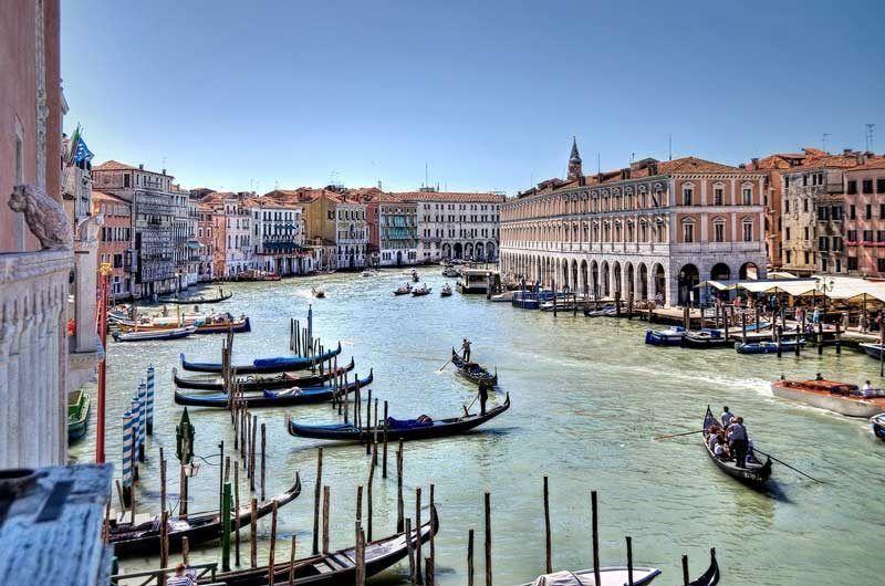 Gran canal de Venecia | Foto: Pixabay