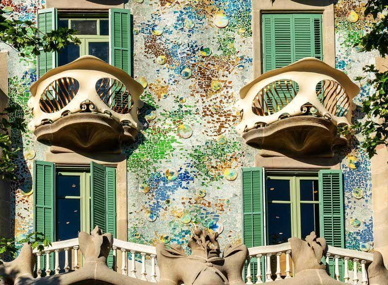 Detalle de la fachada de la Casa Batlló | Foto: Casa Batlló
