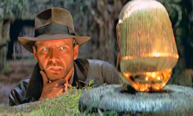 ¿Dónde se rodó Indiana Jones?