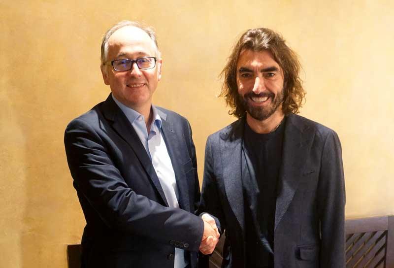Luis Gallego, presidente Ejecutivo de Iberia, y Javier Hidalgo, CEO de Globalia | Foto: Iberia