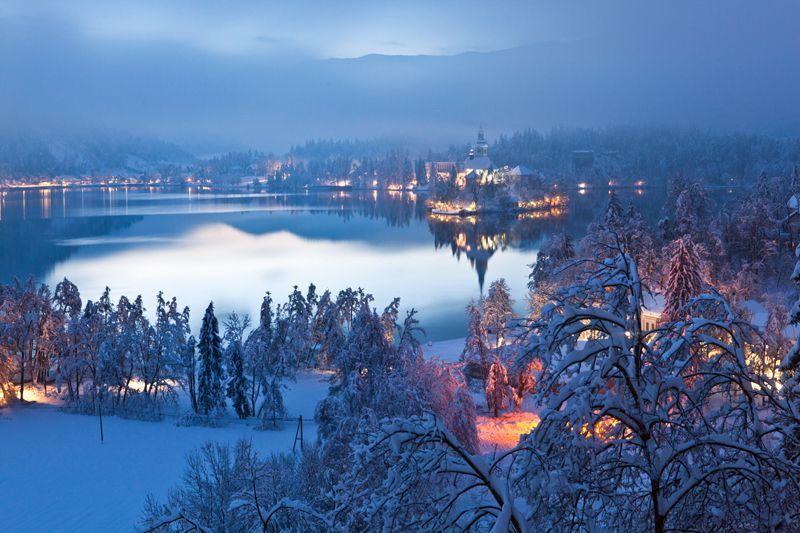 Bled, el mejor plan para el invierno