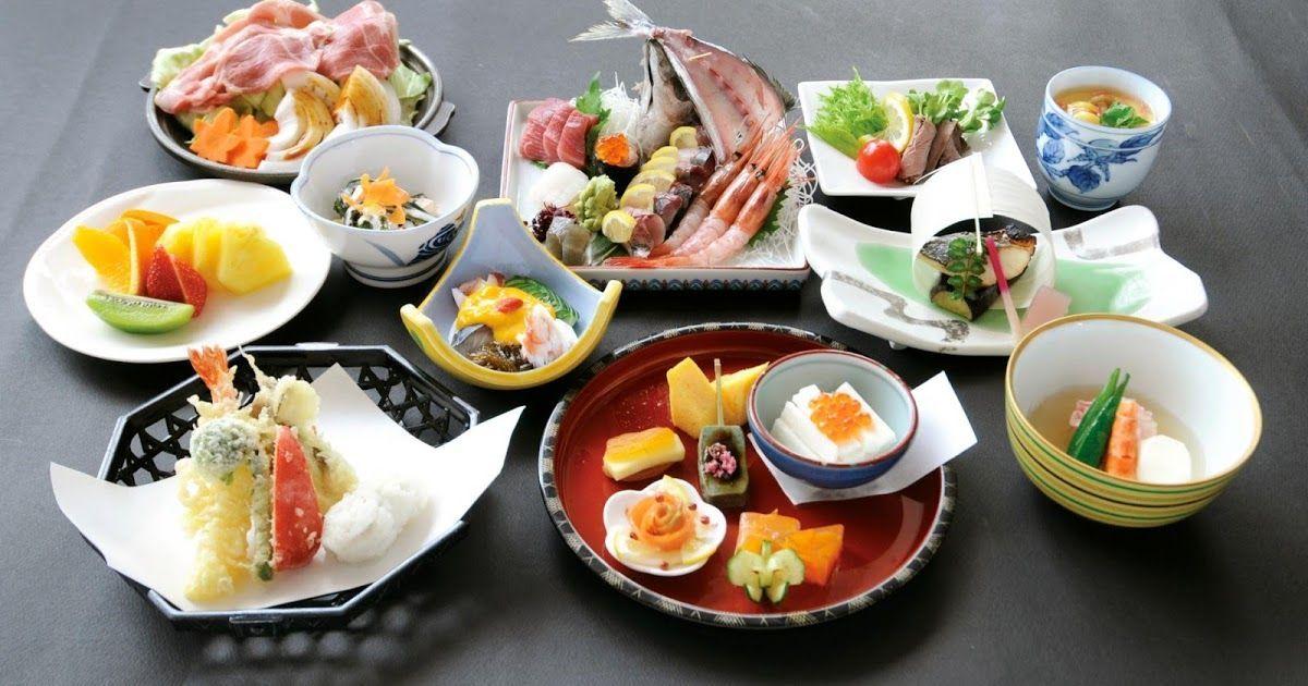 Washoku menu