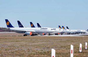 Lufthansa, rescatada con 9.000 millones a pesar de ser rentable