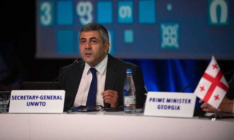 Zurab Pololikashvili, propuesto para repetir como secretario general de la OMT hasta 2025